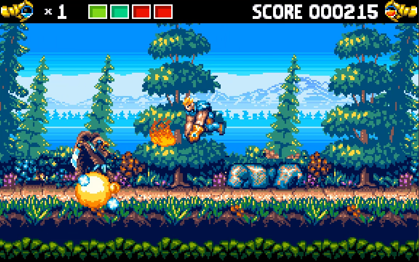DaemonClaw - Amiga Arcade Action Game by BitBeamCannon